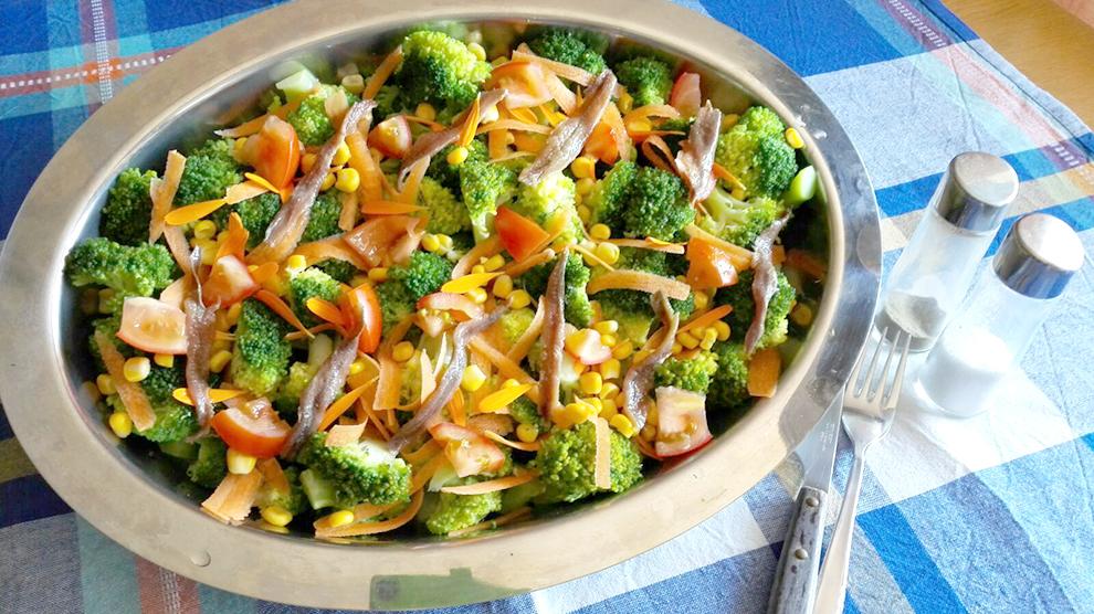 Ensalada de Brócoli con Anchoas