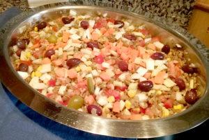 ensalada de lentejas un plato muy completo y nutritivo