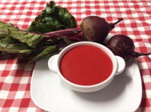 Gazpacho con Remolacha es una alternativa al gazpacho tradicional