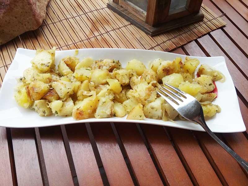 Patatas a la veneciana