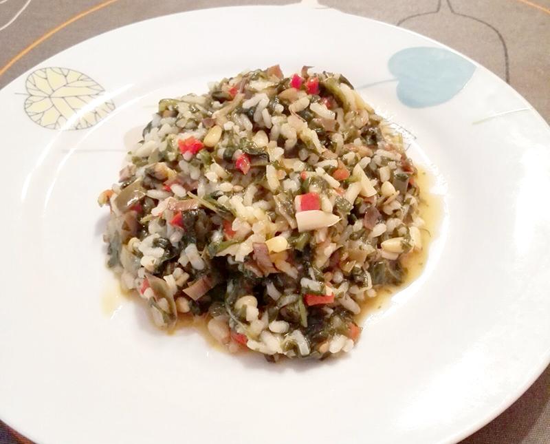 Prepara este arroz vegetariano