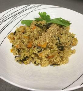 Receta Quinoa con verduras de invierno