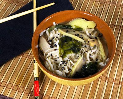 Receta de Sopa de Noodles al Miso