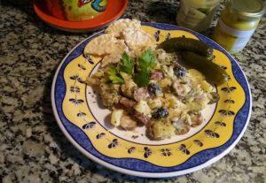 receta vegana ensalada alemana