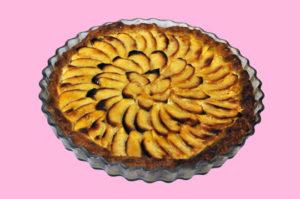 Tarta de manzana ecológica