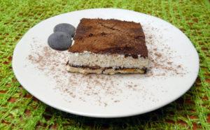 Tiramisú express al chocolate